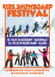 Kids Snowboard Festival @ Nesselwang
